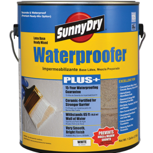 SunnyDry Waterproofer Paint PLUS+